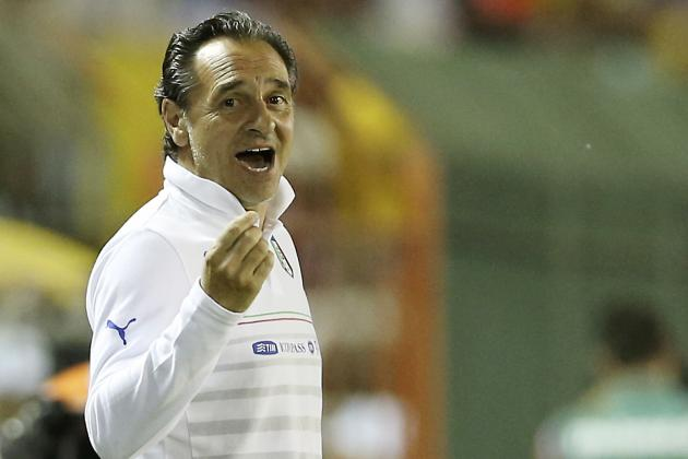 7 Questions for Cesare Prandelli Ahead of Italy's World Cup Clash with England
