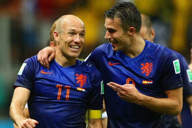 World Cup 2014: Best XI of Day 2 with Robben, Alexis Sanchez and Van Persie