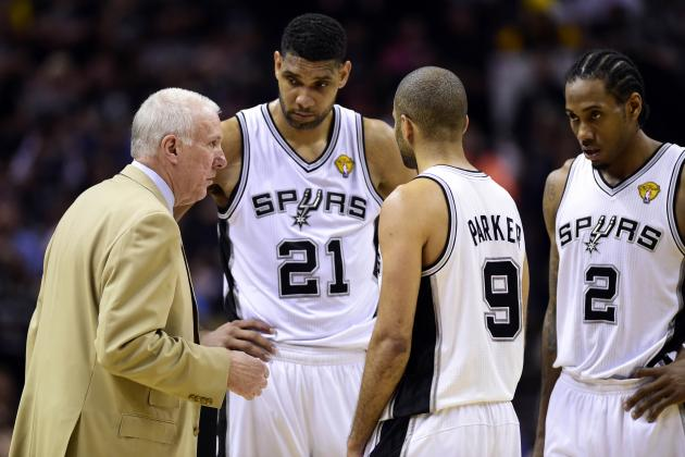Where Does San Antonio Spurs' 2014 NBA Finals Team Rank Among Franchise's Best?