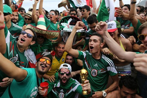 Insane Pictures of Soccer Fans Loving the World Cup