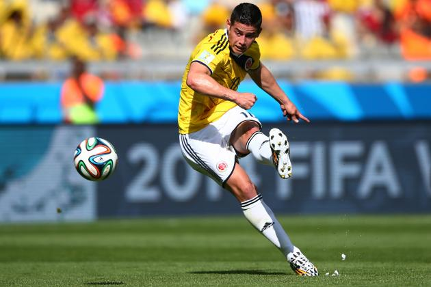 World Cup 2014: Best XI of Day 3 with Pirlo, James Rodriguez and Joel Campbell