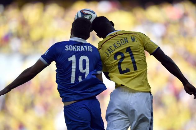Colombia vs. Greece: 6 Things We Learned