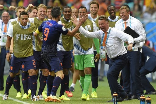 5 Memorable Moments for Manchester United and Holland Man Robin Van Persie