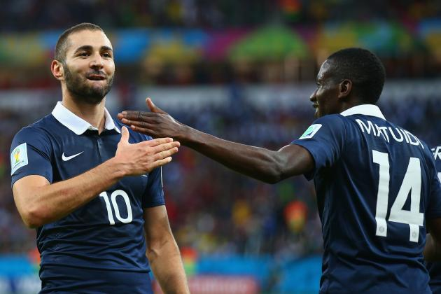 World Cup 2014: Best XI of Day 4 with Karim Benzema, Djourou and Valbuena