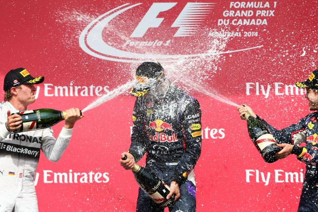 Formula One's Driver Power Rankings After 2014 Canadian Grand Prix