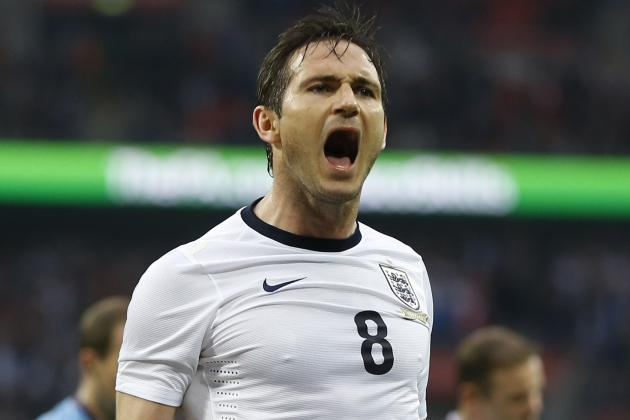 Ranking Frank Lampard's Top 6 England Moments