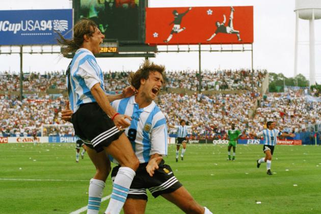 Ranking Argentina's 10 Greatest World Cup Strikers of All Time
