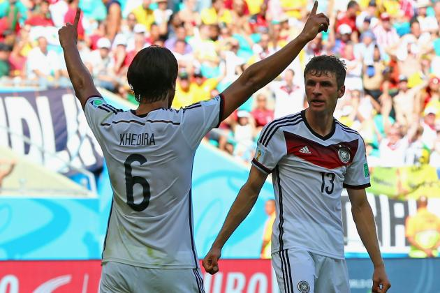 World Cup 2014: Best XI of Day 5 with Thomas Mueller, Toni Kroos, Tim Howard