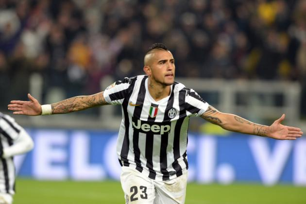 5 Replacements If Arturo Vidal Is Sold by Juventus