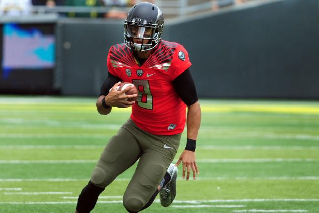 An Early Look at the Top Quarterbacks in the 2015 NFL Draft