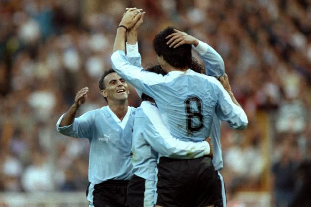 Ranking the 5 Greatest England vs. Uruguay Clashes