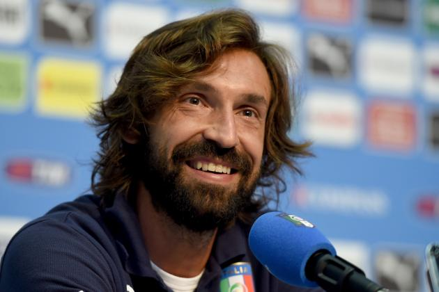 Where Andrea Pirlo Ranks Among Italy's All-Time 10 Best Midfielders