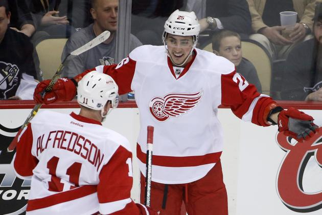 NHL Comparisons for Detroit Red Wings' Top Prospects