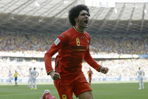 4 Memorable Moments for Manchester United and Belgium Man Marouane Fellaini