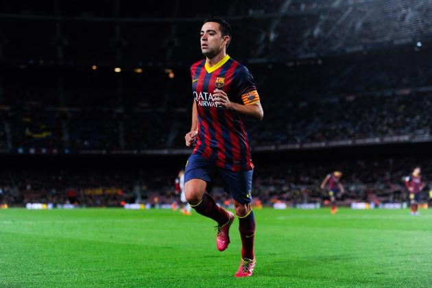 Power Ranking the Week's 20 Hottest Transfer Rumours: Xavi to Al-Arabi?