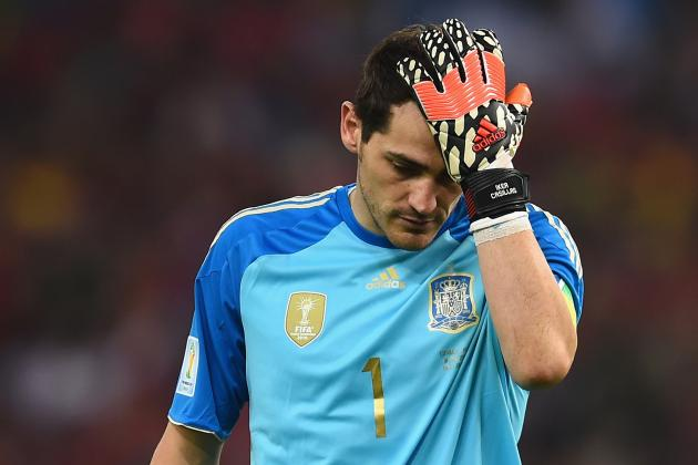 4 Things Spain Must Change Following Loss vs. Chile