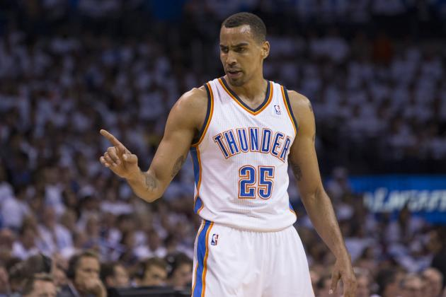Best Potential Free-Agent Landing Spots for Thabo Sefolosha in 2014 Offseason