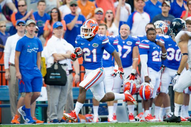 Power Ranking the Florida Gators Positional Units for 2014