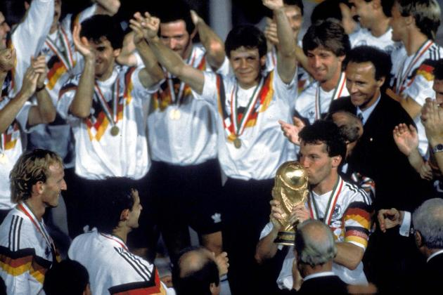 6 Most Popular Germany World Cup Stars Since 1990