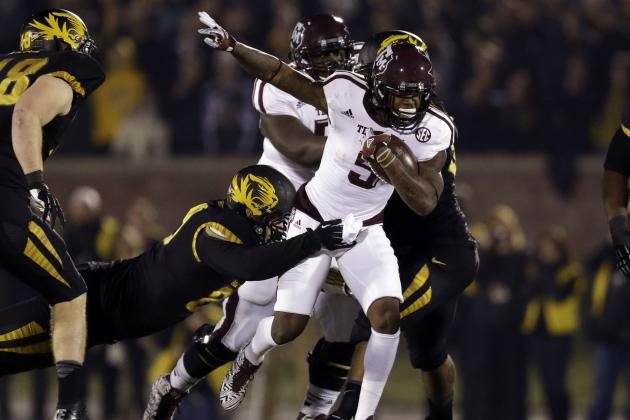 Power Ranking Texas A&M's Positional Units for 2014