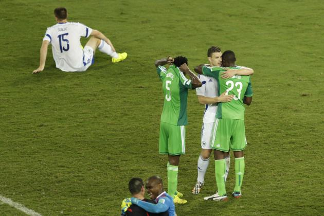 Nigeria vs. Bosnia-Herzegovina: 6 Things We Learned