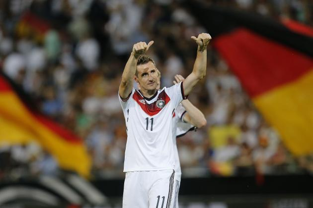 Where Miroslav Klose Ranks Among Germany's Greatest Forwards