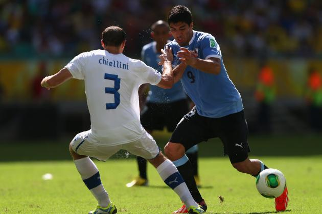 Key Battles That Will Shape Italy's World Cup Clash with Uruguay