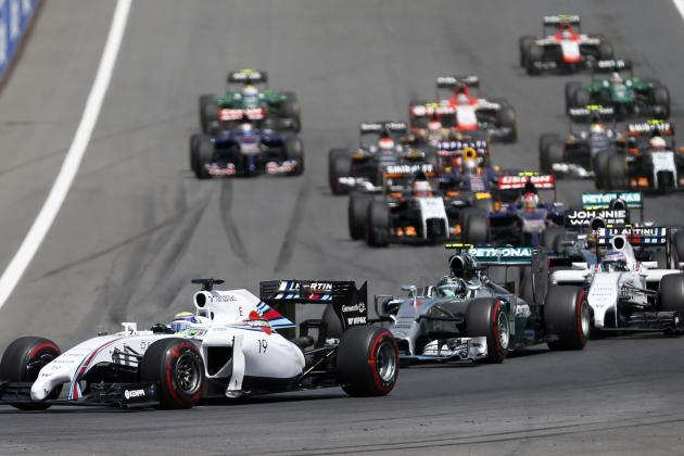 Power Ranking the Formula 1 Teams After 2014 Austrian Grand Prix
