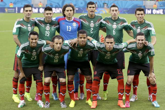 Ranking the Mexico Players on Their World Cup Group Stage Performance