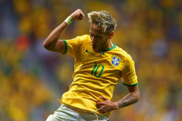 World Cup 2014: Best XI of Day 12 with Neymar, Villa and Robben