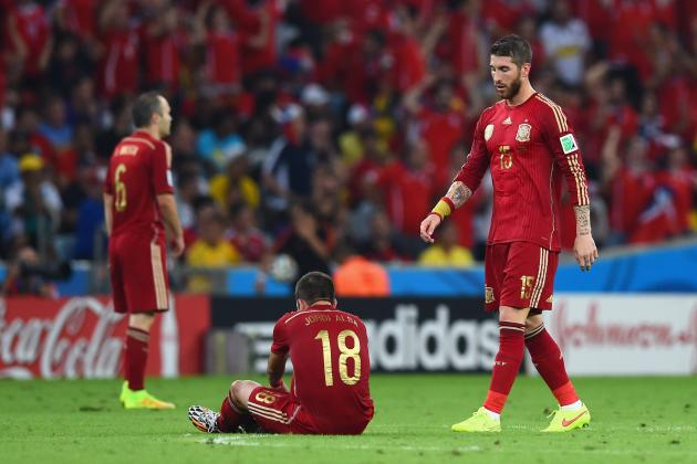 Ranking the Spain Players on Their World Cup Performance