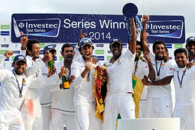 England vs. Sri Lanka: Ranking All 24 Players from the 2014 Test Series