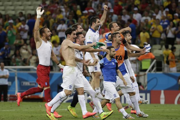 Greece vs. Ivory Coast: 6 Things We Learned