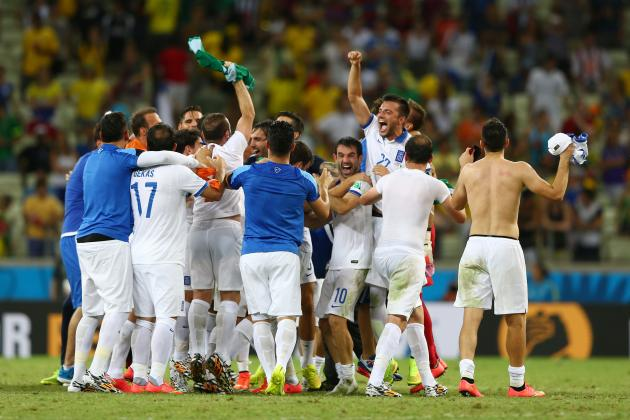 5 Things for Greece to Take out of Their World Cup Group-Stage Games