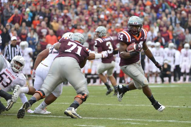 Power Ranking Virginia Tech's Positional Units for 2014