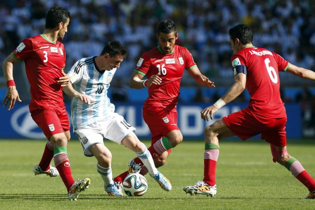 World Cup 2014: How Iran Will Line Up Against Bosnia