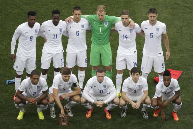 Picking the England Squad for the 2018 World Cup