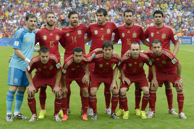 Picking a Spain Team for the Opening Game of Euro 2016 Qualification