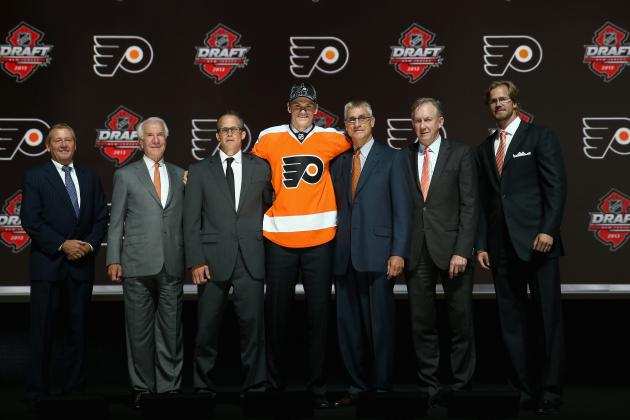 Re-Grading Philadelphia Flyers' Last 5 1st-Round Draft Picks