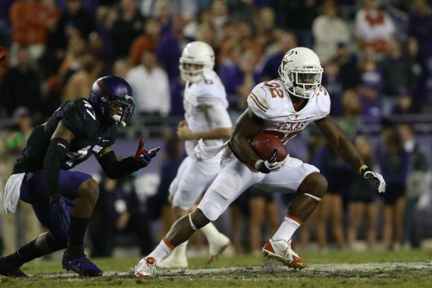 Texas Football: Power Ranking the Longhorns' Positional Units for 2014