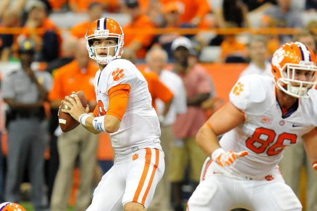 Clemson Football: Over, Under Stat Projections for Cole Stoudt in 2014