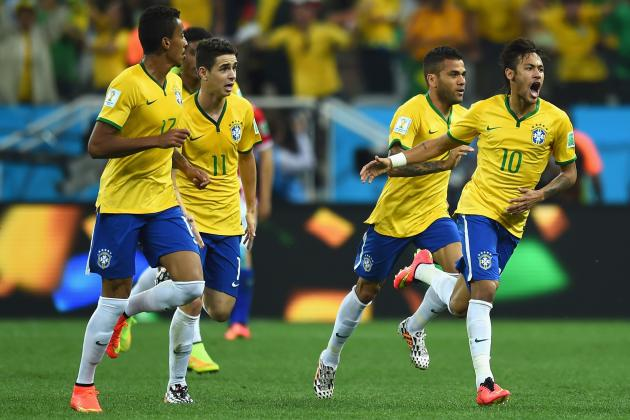Ranking the Brazil Players on Their World Cup Group-Stage Form