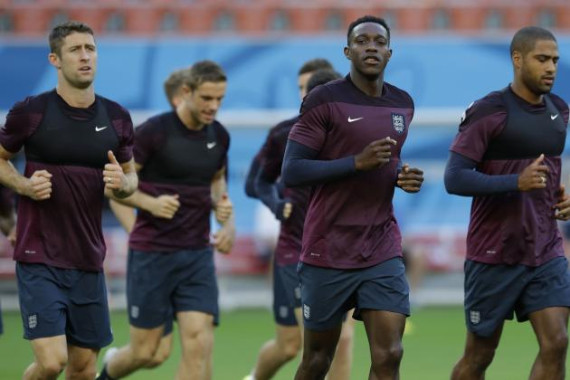 Ranking the England Players on Their World Cup Group Stage Performances