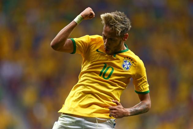 World Cup 2014 Best XI of the Group Stage with Neymar, Arjen Robben and More