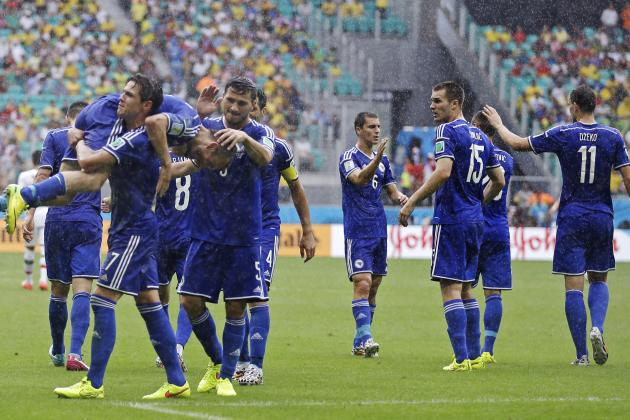 6 World Cup Moments Bosnia-Herzegovina Will Remember from First-Ever Finals