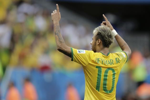 B/R Experts' World Cup Predictions: Neymar Takes Centre Stage