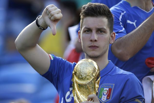 Ranking the Italy Players on Their World Cup Group-Stage Form