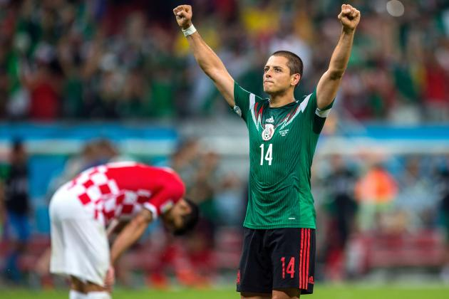 Javier Hernandez and 5 More World Cup Strikers Arsenal Should Target This Summer