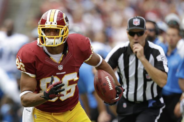 Jordan Reed Leads List of NFL Players Just Scratching the Surface of Greatness