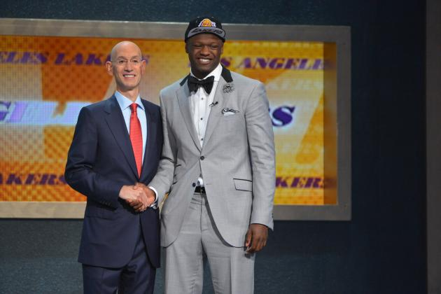 Initial Post-Draft Depth Chart for LA Lakers